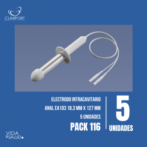 Pack Electrodo Anal